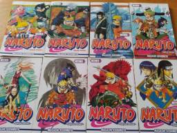 Naruto Pocket Mangá do 03 ao 09