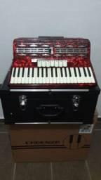 Acordeon Cadenza 120baixos + Case
