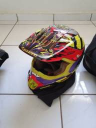Capacete de Motocross Fly
