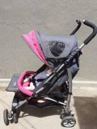 Carrinho de bebe burigoto extreme de aluminio