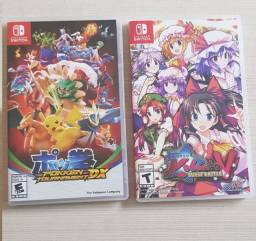 Jogos Nintendo Switch - Pokken Tournament DX e Touhou Kabuto Bust Battle V