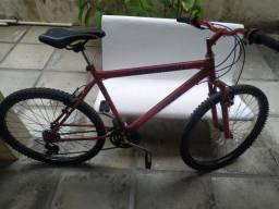 Bicicleta Zummi Aro 26 - 18 marchas - câmbio Shimano.