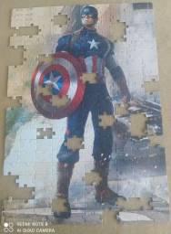 Quebra Cabeça Capitão América