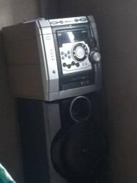 Cabeça de som mais caixas