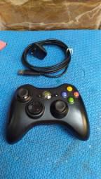 Controle Xbox 360 original Microsoft +cabo usb
