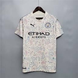 Camiseta 20-21 Manchester City NOVA