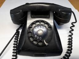 Telefone Ericsson de baquelite antigo