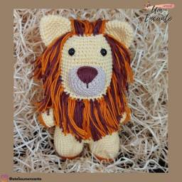 Leãozinho de Crochê - Amigurumi