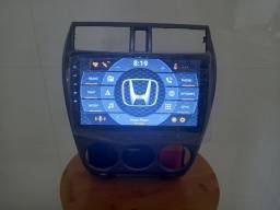 Central multimídia Honda city 9 polegadas
