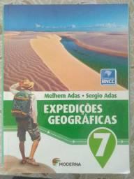 Livros do 7° Ano do Gênesis - Araribá Plus; Matemática Bianchini; Expedições Geográficas