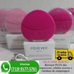 Aparelho Esponja Massageadora Limpeza Facial Rosto Eletrico (NOVO)