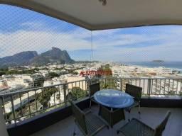 Título do anúncio: Apartamento com 2 dormitórios para alugar, 69 m² por R$ 4.500,00/mês - Barra da Tijuca - R