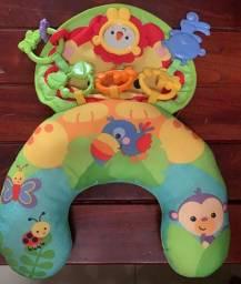 Almofada para atividades com o bebê - Leãozinho- Fisher Price