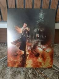 Case steel book final fantasy 7 remake.