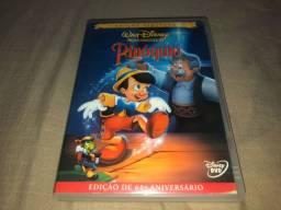 DVD Pinóquio - Edição 60° Aniversário - Disney