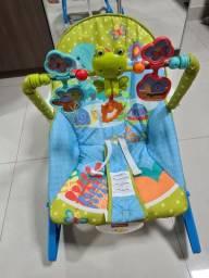 Cadeira descanso e balanço bebê