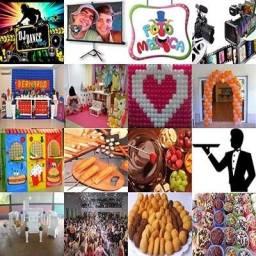 Buffet para Festas e Eventos - Infantil, Casamento, 15 anos, Bodas, Aniversarios