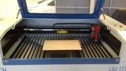 Maquina corte gravação a Laser Hibrida Tubo Laser CO2 Reci W6 130W