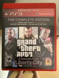 Jogo GTA 4 PS3 com mapa e poster grand theft auto IV PS3
