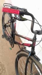 Vendo bicicleta em perfeito estado 180 entrego.