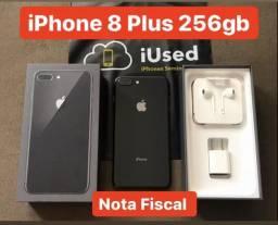 IPhone 8 Plus 256gb Nota Fiscal - Aceito Cartão