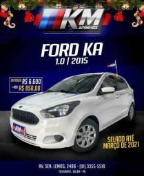 Ford ka 1.0 2015 3 cilindros - 2015