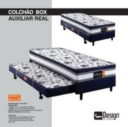 Colchão Box com auxiliar