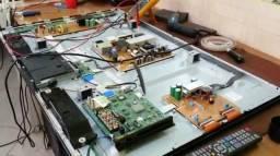 Conserto TV LED LCD PLASMA - 6 meses garantia - Pgto facilitado no cartao