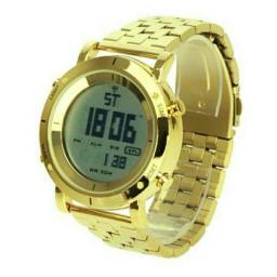 c86cf3c52cd Relógio dourada original novo unissex a prova de água