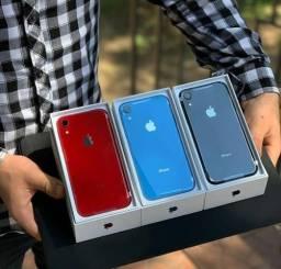 IPhone XR,64GB,4G,LACRADOS/ZEROS - 1 Ano Garantia (Red Preto Branco Azul)