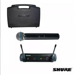 Microfone Sem Fio Shure Beta 58A Com Case