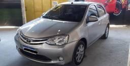 Toyota Etios Xls automático Sem entrada + 48x Sem detalhe Lindo!