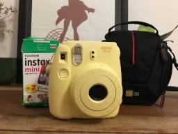 Câmera Fujifilm Instax mini 8 (+ acessórios e filme)