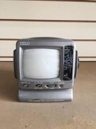 Mini Personal Television with AM/FM Radio