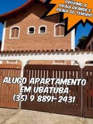 Alugo apartamento em Ubatuba - SP