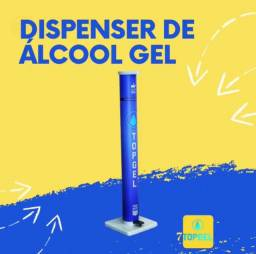 Totem dispenser de álcool gel