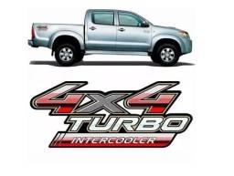 Adesivo Hilux 2009 4x4 Turbo Intercooler