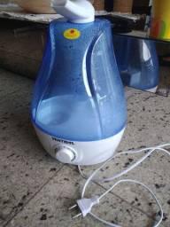 Vaporizador ventisol cor azul e branco