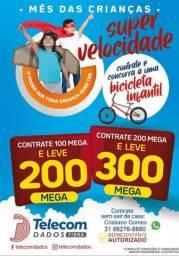 INTERNET FIBRA ÓPTICA DE ULTRA VELOCIDADE