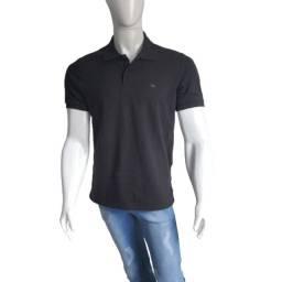 Camisa Gola Polo Ogochi Preta Tamanho Disponíveis: (PP), (P) ,(M),(G) e (GG)