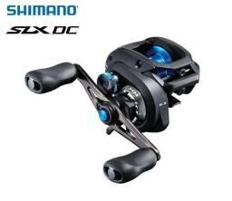 Nova Carretilha Shimano® Slx Dc 150 Xg 8.2:1 Drg:5kg- Manivela Direita