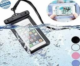 R$ 20 Capa para celular a Prova D'água -Loja BK Variedades