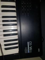 Sintetizador korg 01/w top de linha