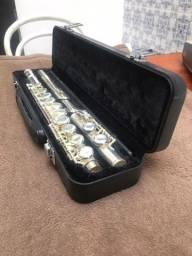 Flauta Transversal Eagle FL03S Prata (Nunca usada)
