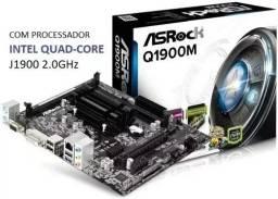 Placa Mae Asrock Q1900m Quad-core Ddr3 Hdmi Dvi-d Vga Matx