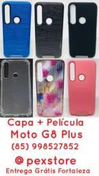 Capa com Película Motorola + Entrega Grátis Fortaleza