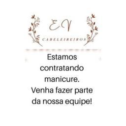 EV cabeleireiros está selecionando manicure com experiência em;