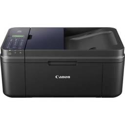 Impressora multifuncional canon pixma e480 com dois cartuchos vazios