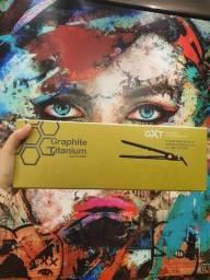 """Prancha BaByliss PRO Graphite Titanium GXT 1 1/4"""" 232ºC - Original Lacrado"""