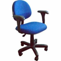 Título do anúncio: Cadeira giratória para recepção,escritório,home office - entrega rápida